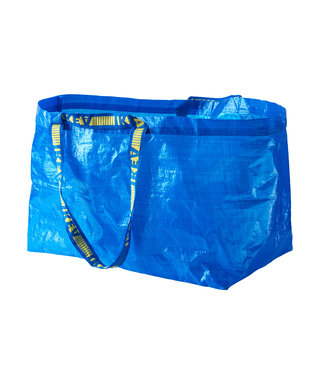 The IKEA Shopping Bag Is a Trendy Hat Now