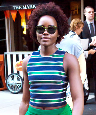 Lupita Nyong'o Demos How to Make an $11 Top Look Incredibly Chic