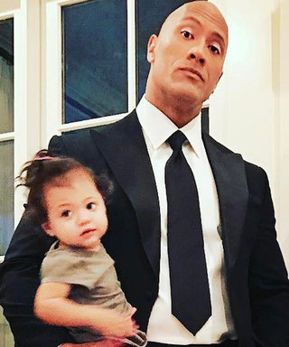 """Dwayne """"The Rock"""" Johnson Shares Sweet Birthday Moment with His Daughter"""