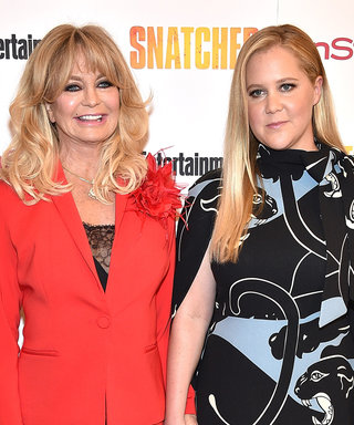 Snatched Co-Stars Goldie Hawn and Amy Schumer Are BFFs IRL