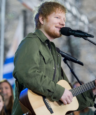 Ed Sheeran Teases New Tour Dates with Help from His Two Cats