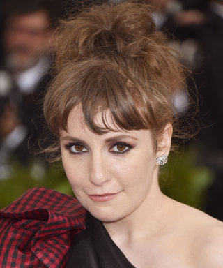 Lena Dunham Shares a Powerful Photo from Her Hospital Bed
