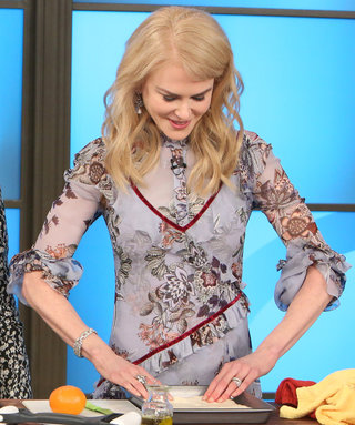 Nicole Kidman Tries Giada De Laurentiis's Food and Shares Her Honest Opinion