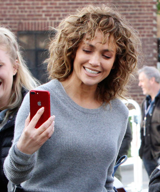 Jennifer Lopez Celebrates Early Mother's Day by Bringing Mom on Set