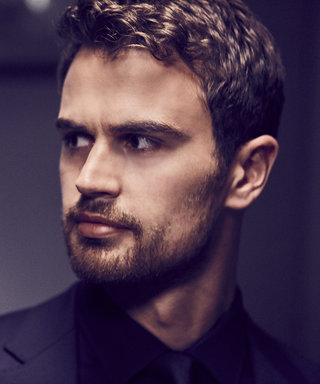 Theo James Is Obsessed with the Smell of His Tea Cupboard