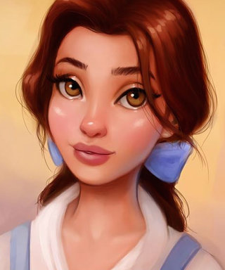 Artist Reimagines Disney Princesses in Realistic (& Breathtaking) Drawings