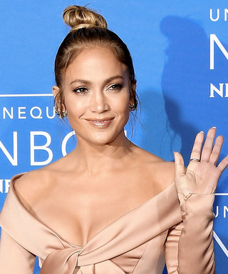 Jennifer Lopez's High-Slit Satin Dress Will Take Your Breath Away