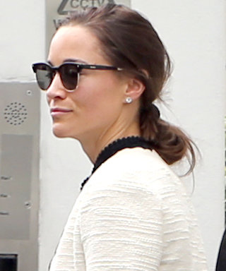 Pippa Middleton Kicks Off Her Wedding Week with a Visit to the Spa