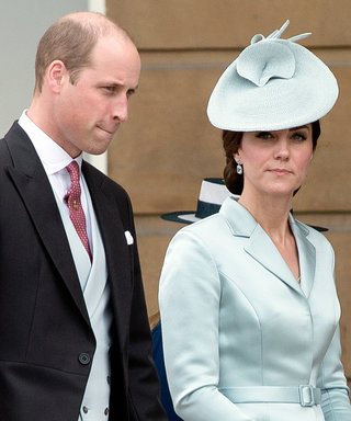 Prince William and Kate Middleton Join the Queen for a Royal Garden Party