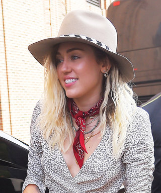 How to Get Miley Cyrus's Adorable Floral Shoes