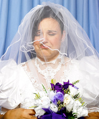 These 14 Brides Prove That Buying Your Wedding Dress Online Is a Terrible Idea