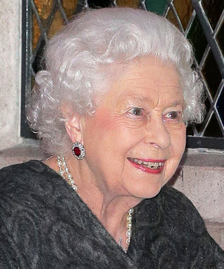 Queen Elizabeth Dresses to the Nines for a Rare Night Out on the Town