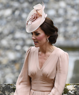 Kate Middleton Wore a Blush Dress to Pippa's Wedding and It's Perfection
