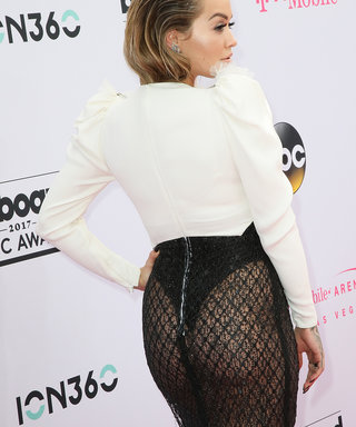 This Is Why Rita Ora Decided to Wear a Thong to the 2017 Billboard Music Awards
