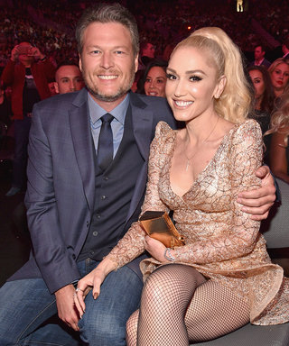 Blake Shelton Kisses Gwen Stefani After Billboard Music Awards Win