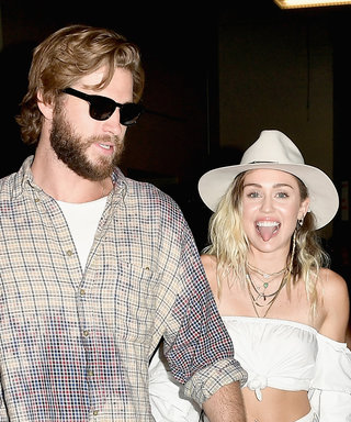 Like Your Dream Boyfriend, Liam Hemsworth Was There for Miley's Tear-Jerking Performance
