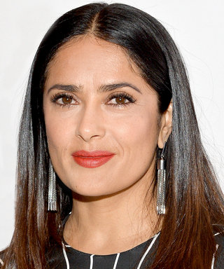 Salma Hayek Looks Totally Different With Pink Hair