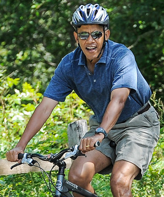Barack Obama Gives Off Major Dad Vibes While Biking Through Tuscany