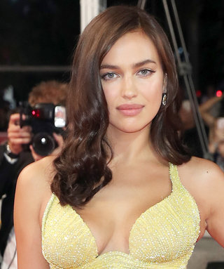 Irina Shayk Makes Her Post-Baby Debut in a Super Sexy Gown at Cannes