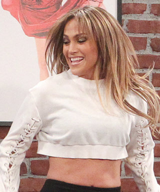 J.Lo Still Looks Flawless While Getting Dance Lessons from Adorable Toddlers