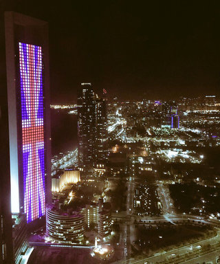 World Monuments Light Up with Britain's Flag in Tribute to Manchester Victims