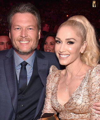 Gwen Stefani Cheers Up Boyfriend Blake Shelton After He Loses on The Voice