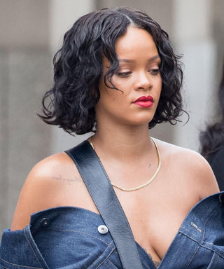 Only Rihanna Could Make a Baggy Denim Skirt Look This Good