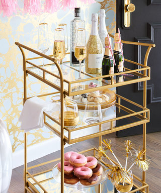 Host Like A Boss! Shop the Best Bar Carts Under $250