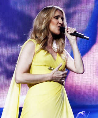 Celine Dion Channels Belle in Caped Yellow Gown
