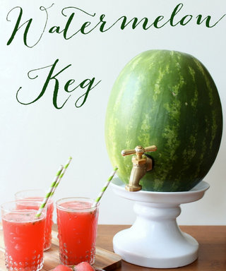Make A Splash This Summer With This Adorable Watermelon Keg