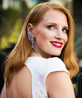 Daily Beauty Buzz: Jessica Chastain's Smoky Gray Shadow