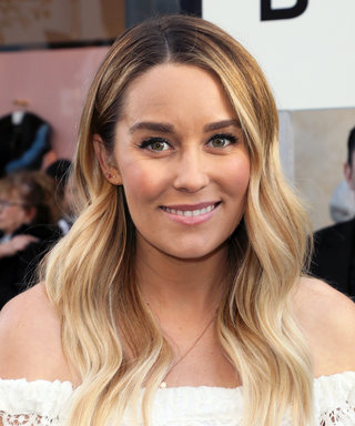 Lauren Conrad Bares Her Baby Bump in the Cutest Scalloped Bikini