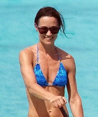 Newlywed Pippa Middleton Shows Off Her Incredible Body in a Blue String Bikini