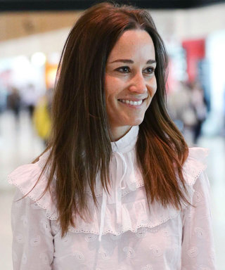 Pippa Middleton Found the Perfect Frilly Blouse for a Honeymoon