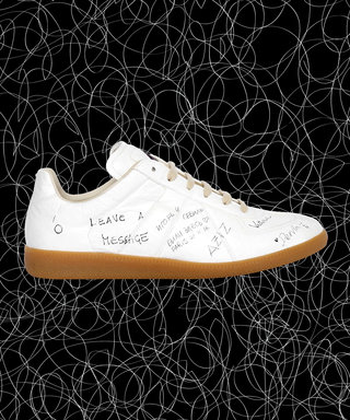 These $655 Paper Sneakers Are Meant to be Written On