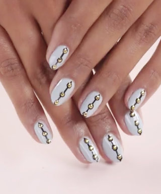 Nail Art Know How: Gold Medal