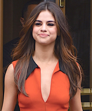 Selena Gomez Strikes Again with TWO Fiery Dresses in N.Y.C. Today
