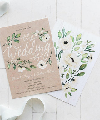 These Celeb-Approved Wedding Invites Take Stationery to the Next Level