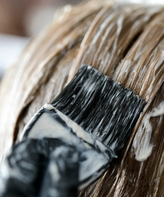 how to clean hair dye off skin