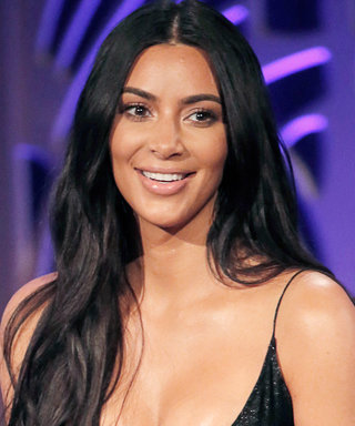 Kim Kardashian Throws Back a Tequila Shot in Sexy Chanel Bikini