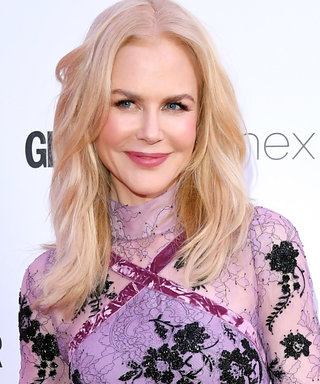 We're in Love With Nicole Kidman's Allover Lilac Lace Dress