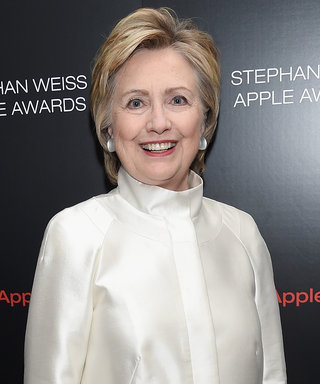 Hillary Clinton Talks About That Famous Shoulderless Dress She Wore in the '90s