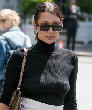 Bella Hadid Went from Bundled Up to Braless in 12 Hours