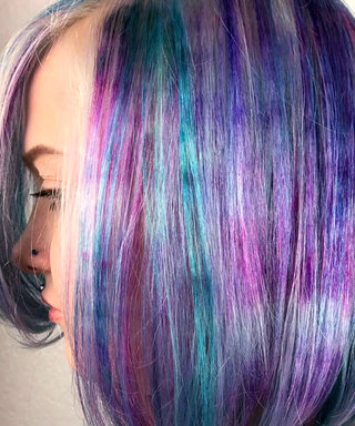 Hair Marbling Is the Most Mesmerizing Color Technique We've Seen to Date