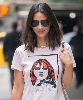 Olivia Munn's Latest Look Pays Homage to a Rockstar Muse