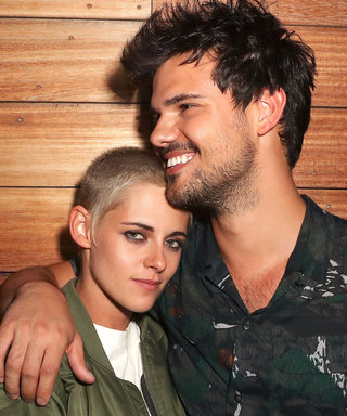 Kristen Stewart and Taylor Lautner Had a Twilight Reunion at the Moschino Show
