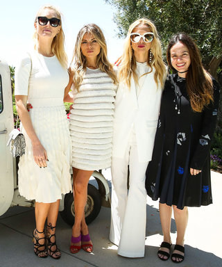 Inside Ferragamo's Star-Studded L.A. Lunch