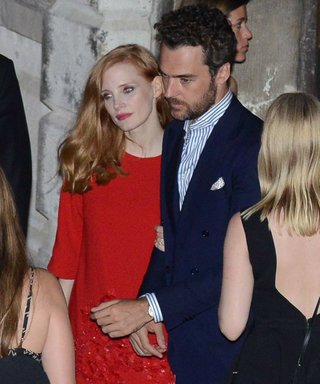 Jessica Chastain Steps Out on the Eve of Her Wedding