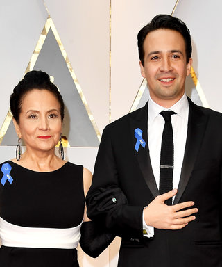Lin-Manuel Miranda's Mom Has a Very Special (and Bedazzled) Boot Cast for the Tonys