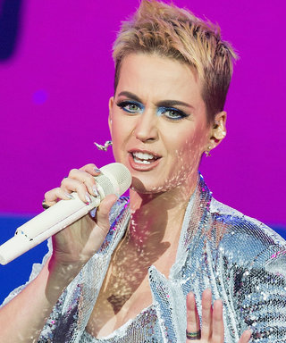 Katy Perry's Pixie Cut Is Now Bright Blue